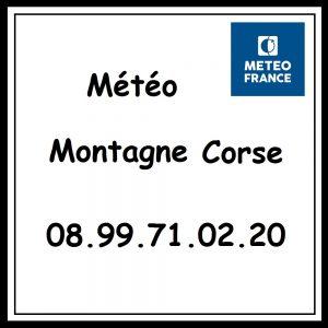 Numéro Metro France Montagne Corse GR20
