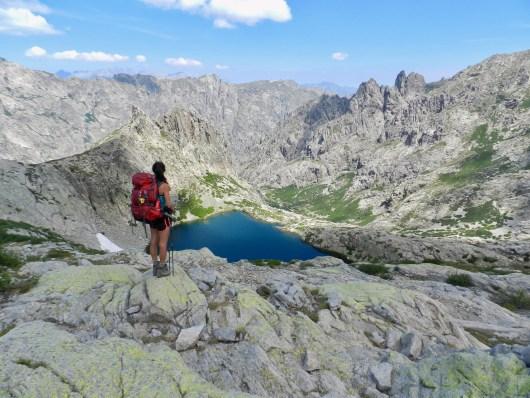 Gabrielle - Lac du GR20 nord - Corse