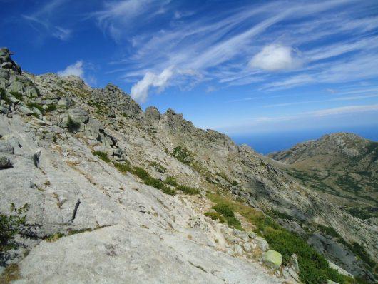 En contrebas du Monte Incudine - avant Asinau