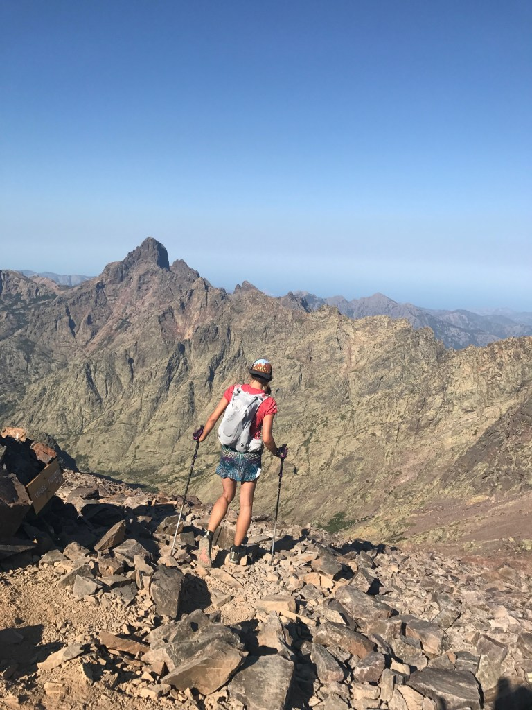 Libby Sauter - Hiking in the Corsican moutains