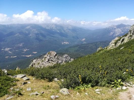 La montagne Corse - juillet - GR20 sud
