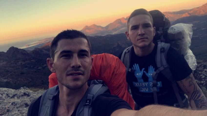 en chemin - GR20 - Corse hike