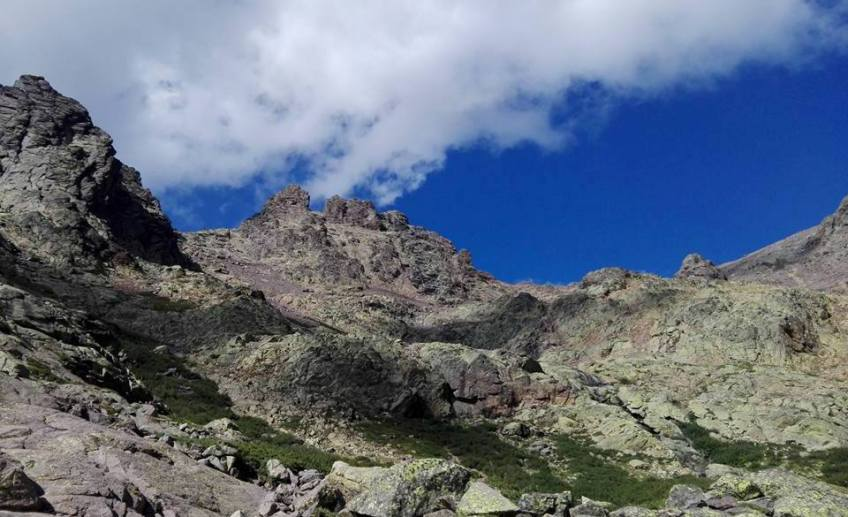 Montagna e nuvola - Corsica