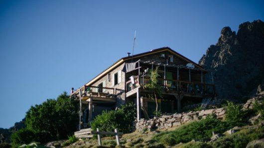 GR20's mountain shelter
