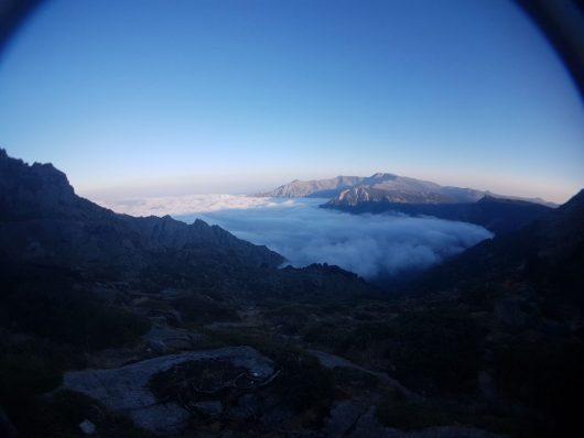 La Corse - vue d'avion