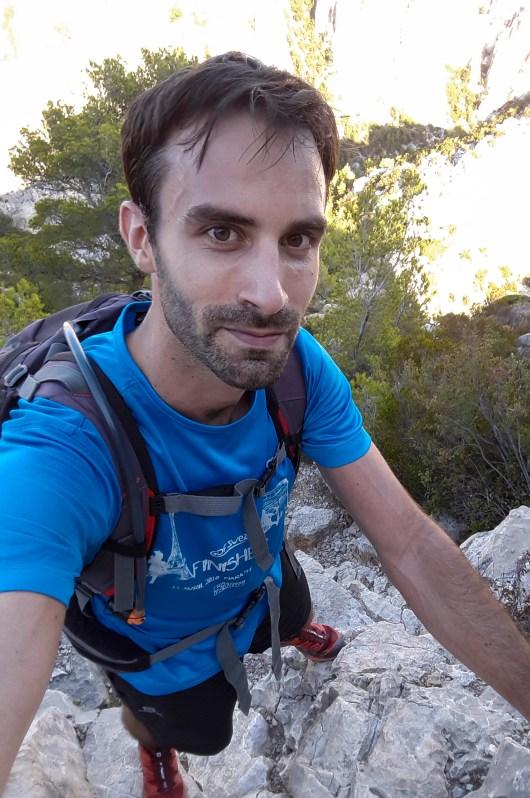 Olivier - Inspiration Trail - sur le GR20