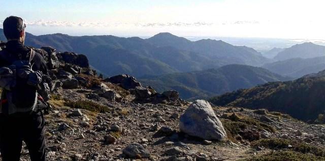 Alban - Au loin la mer, depuis la montagne