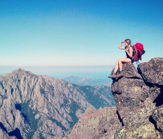 Sur le toit de la Corse - une vue, quelle vue !