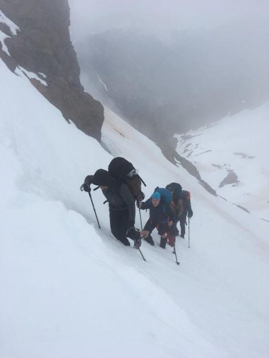 Philippe Gaudron - GR20 sous la neige