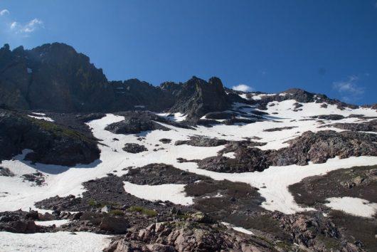 La montagne corse - mi juin