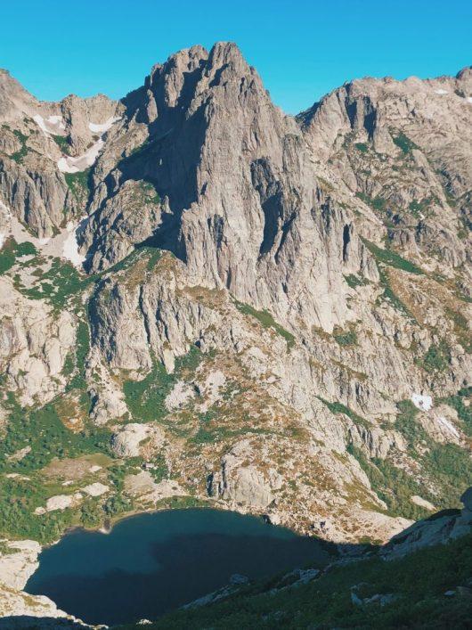 GR20 Nord - les lacs