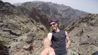 Selfie Guillaume - GR20 - Corse