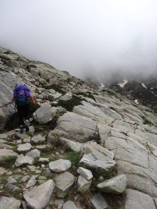 Brouillard en montagne - Corse