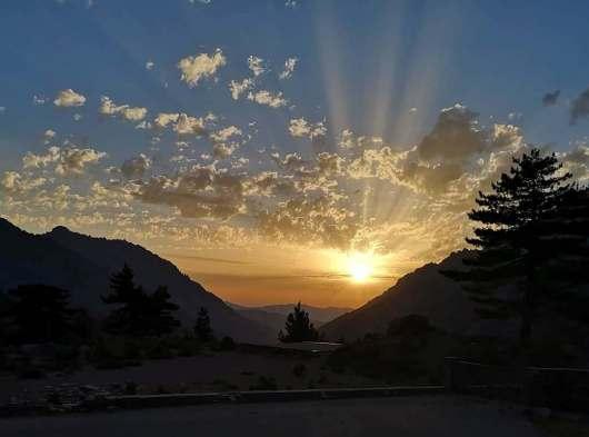 Sunrise - GR20
