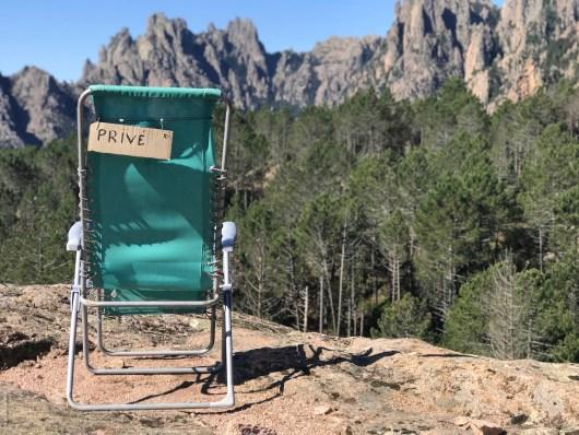 Chaise du gardien -I Paliri