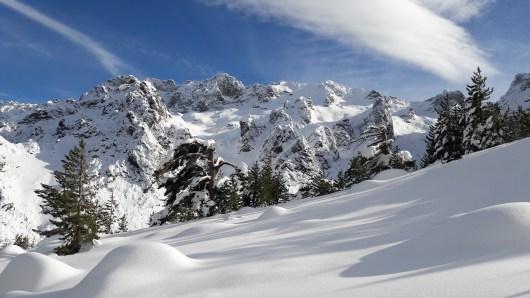 La montagne Corse en hiver