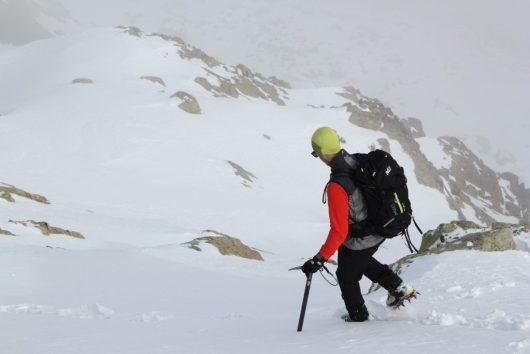 Descente - GR20 - Sous la neige