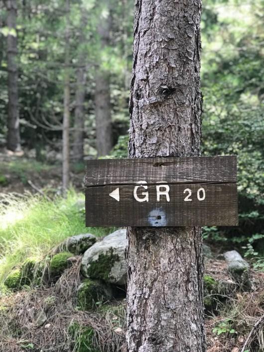 Panneau GR20