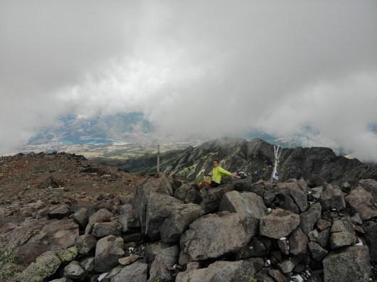Monte Cinto dans les nuages - Corsica