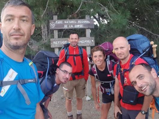 FRALIMONTI - GR20 - Christophe et ses amis