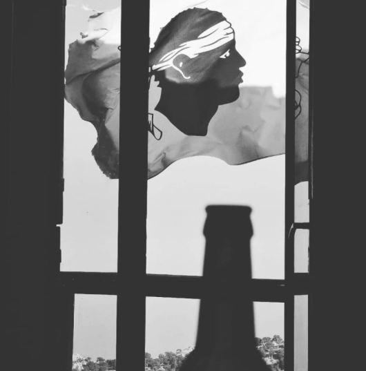 Luigi - soifdecorse en noir et blanc