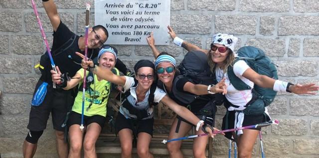 Christiane et ses amis - arrivée à Conca
