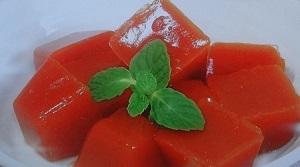 血糖値を下げ血管の老化を防ぐ!トマト寒天のレシピ【サタデープラス】