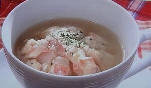 きのこのイタリアンスープのレシピ【あさイチ】by濱崎龍一