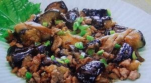 ごごナマ:秋なすと豚肉のにんにくの芽炒めのレシピ!パン・ウェイの養生おかず