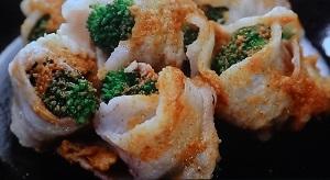 柳澤英子の豚巻きブロッコリーのレシピ