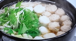 ソレダメ:自然薯のとろろつくね鍋のレシピ!