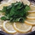 パクチー入り塩レモン鍋