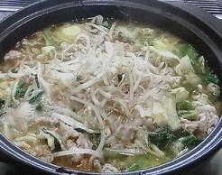 須田順子さんの鍋のレシピ