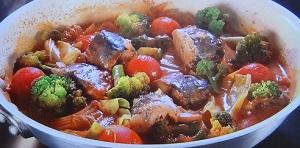 沸騰ワード10:志麻さんの魚のトマトオーブン焼きのレシピ!藤岡弘家