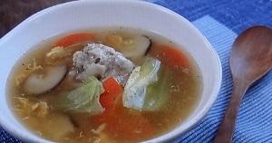【4時も!シブ5時】和田明日香の鶏だんごスープのレシピ