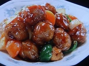 ヒルナンデス:酢豚風ミートボールのレシピ!業務スーパー活用術