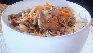 シューイチ:レンジで豚しゃぶカレーのレシピ!印度カリー子のスパイスカレー