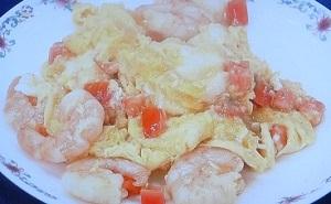 ヒルナンデス:エビと卵の炒めのレシピ!オークラ東京