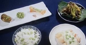 【相葉マナブ】枝豆のレシピ!枝豆のかき揚げ&炊き込みご飯!旬の産地ごはん