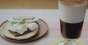 【きじまりゅうたの小腹がすきました】超簡単コーヒーゼリーと南部せんべいスモアのレシピ!