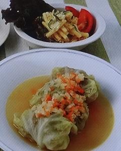 ヒルナンデス:加藤ナナの豆腐で超ヘルシーロールキャベツのレシピ!サイコロレストラン