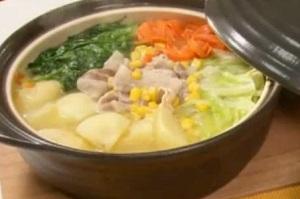 家事ヤロウ:ロバート馬場のえのき氷と白菜の漬物鍋のレシピ!