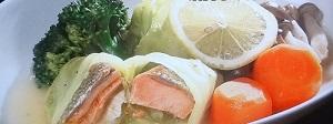 【PON】鮭のレモンロールキャベツのレシピ!ボルサリーノ関の開運飯!朝比奈彩