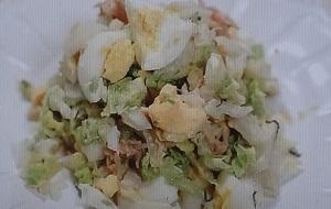 【ヒルナンデス】生白菜のサラダのレシピ!クックパッドsantababy