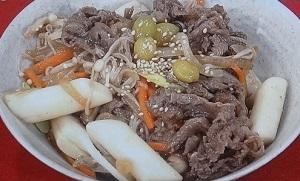 【あさイチ】牛肉トッポッキのレシピ!韓国料理!かわいい料理研究家ファン・インソン