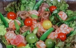 ヒルナンデス:いちごと生ハムのサラダのレシピ!特製ドレッシングも:農家レシピ