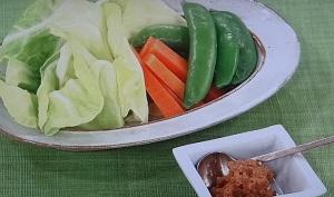 春野菜のみそディップのレシピ【あさイチ】大原千鶴