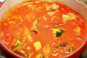 めざましテレビ:簡単ラタトゥイユのレシピ!トマトソース缶で