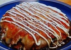 豚肉と納豆のドーム焼きごはん