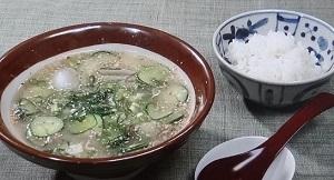 【おは朝】豆乳&サバ缶の冷汁のレシピ!豆乳アレンジレシピ